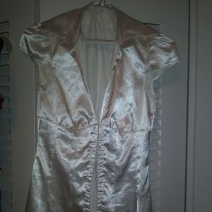 Vintage Guess Jeans Silk like Blouse